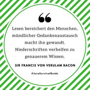 Zitat Bacon