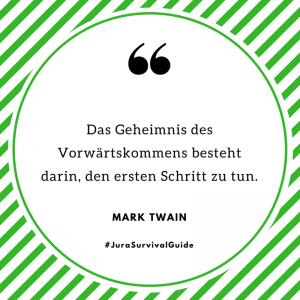 Zitat Mark Twain Vorwärtskommen