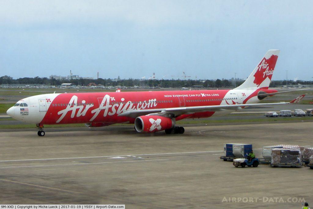 AirAsia Fllughafen Sydney/Australien,