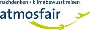Logo von atmosfair; Bild: