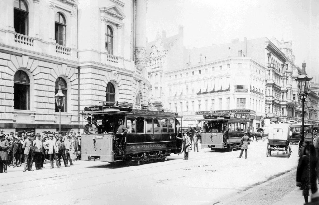 Straßenbahnen in Treptow 1896
