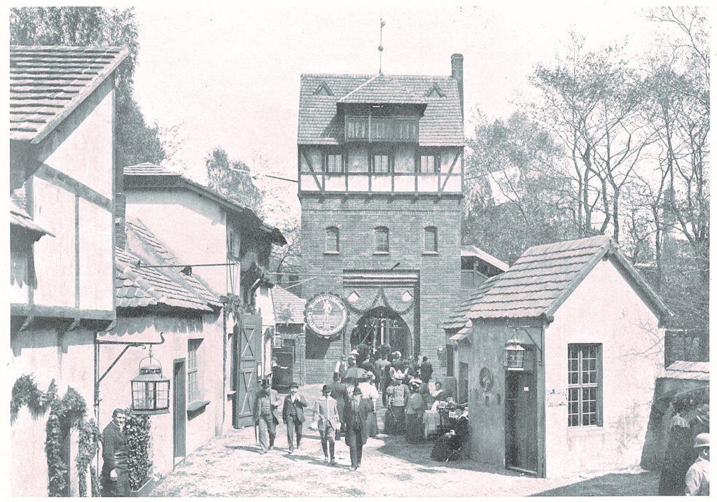 Georgentor im alten Berlin