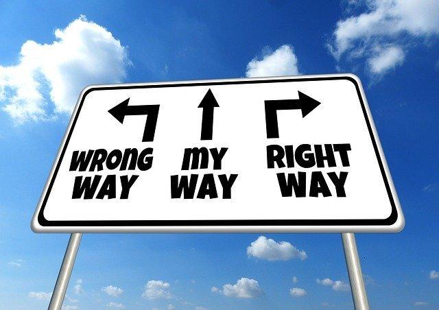 Richtiger oder falscher Weg?