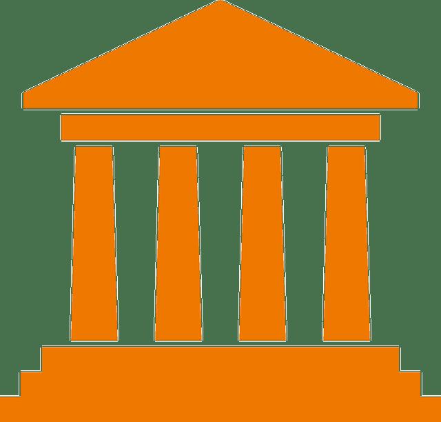 Vier Säulen, Gerichtsgebäude
