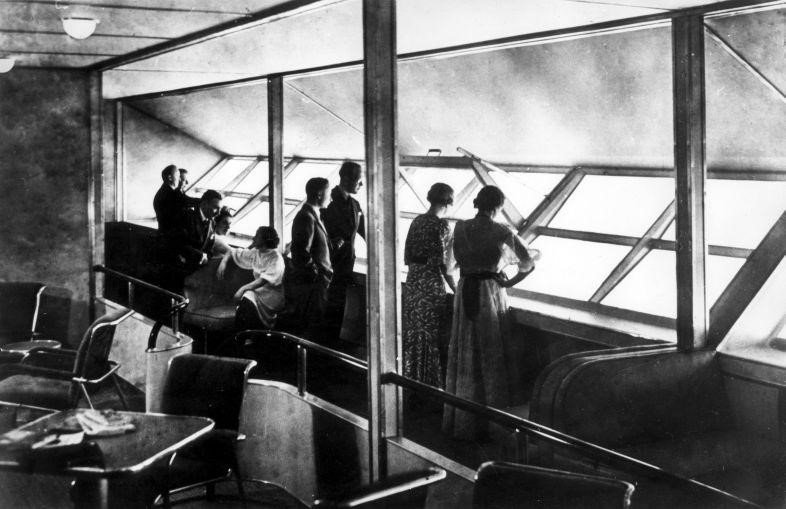 An Bord der Hindenburg