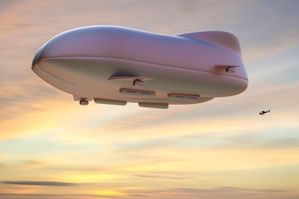 Hybrid-Luftschiff